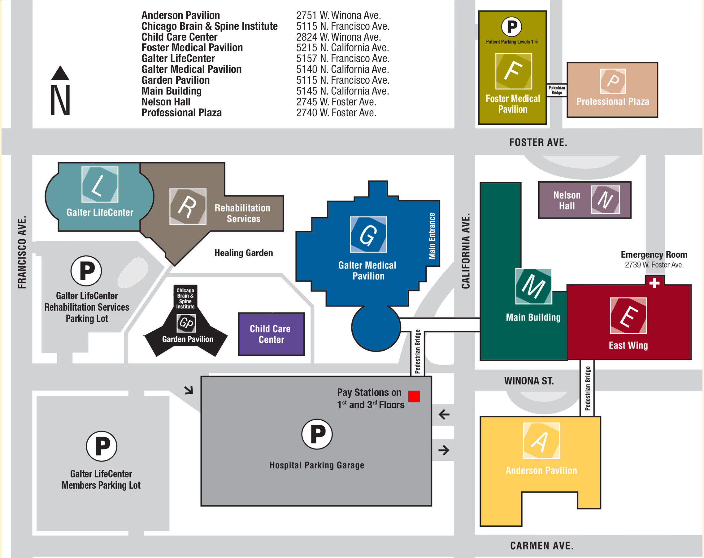 campus map maps directions chicago state university